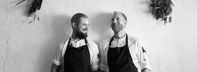 chef Morten Rastad and chef Christoffer Norton